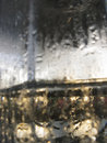 Abstract glass background water condensation on the cold glas surface Stock Photos