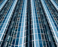Abstract glass facade Royalty Free Stock Photos