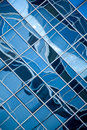 Abstract Glass Wall Stock Photo
