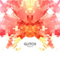 Abstract glitch textured background corrupted vector image colorful abstract background for your modern designs Royalty Free Stock Photo