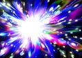 Abstract glitter star background, lights, holiday, fun, multicol Royalty Free Stock Photo