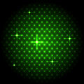 Abstract global with green dots background Royalty Free Stock Photo