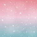 Abstract Glossy Star Sky Vector Illustration Background