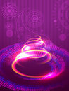 Abstract glowing background Royalty Free Stock Photography