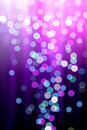 Abstract glowing defocused lights Royalty Free Stock Photo