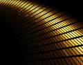 Abstract gold colored mosaic Stock Photo