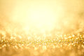 Abstract Gold Light For Holida...