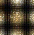 Abstract gold mosaic background Royalty Free Stock Photo