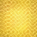 Abstract gold with wavy layers of lines in abstract pattern, luxury gold background design Royalty Free Stock Photo