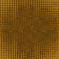 Abstract golden background pattern Stock Photography