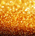 Abstract golden christmas background and new year Royalty Free Stock Photography
