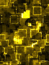 Abstract golden square background Royalty Free Stock Image
