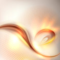 Abstract golden swirl background Royalty Free Stock Photo