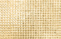 Abstract golden white mosaic background the Royalty Free Stock Image
