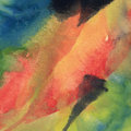 Abstract gouache painting messy colorful stains Royalty Free Stock Photo
