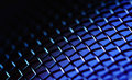 Blue metallic background Royalty Free Stock Photo