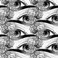 Abstract graphic eye