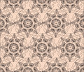 Abstract graphic Ornament flower pattern Royalty Free Stock Photo