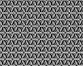 Abstract gray scale floral seamless pattern