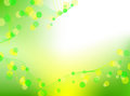 Abstract green background with lines and with imitation bokeh Royalty Free Stock Photos