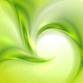 Abstract green background with swirl Royalty Free Stock Images