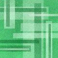 Abstract green background with white rectangles in abstract layout design layers of and pattern linen type texture Stock Image