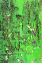 Abstract green brushstroke background Royalty Free Stock Photo
