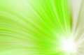 Abstract green curves background lines Stock Photo
