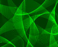 Abstract green d background emerald with ribbons for design Stock Photo