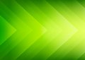 Abstract green eco arrows background ecology theme for presentation Royalty Free Stock Image