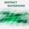 Abstract green geometric overlapping design background