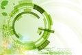 Abstraktní zelený bod obchod a