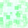 Abstract Green Squares Background Royalty Free Stock Photo