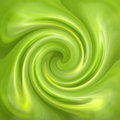 Abstract green swirl  glossy background Royalty Free Stock Photo