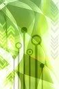 Abstraktné zelený