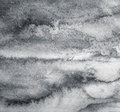 Abstract grey watercolor on paper texture as background. In blac Royalty Free Stock Photo