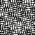 Abstract Grid Pattern With Connected Lines Forming Alternating S Royalty Free Stock Photo