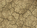 Abstract ground texture dry soil with deep fissures Stock Photography
