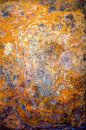 Abstract grunge background in orange, yellow, blue, purple colors Royalty Free Stock Photo