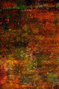 Abstract grunge background in red, orange and brown tones