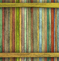 Abstract grunge d render colored wood timber plank backdrop Royalty Free Stock Photos