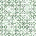 Abstract grunge green texture fractal patterns