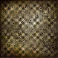 Abstract grunge iron surface with circles Royalty Free Stock Photography