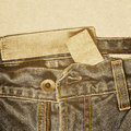 Abstract grunge jeans background vintage paper cotton texture Royalty Free Stock Images