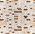 Abstract grunge mosaic tiles raster Royalty Free Stock Photo