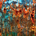 Abstract grunge multicolor texture. Stock Photo