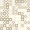 Abstract grunge orange texture fractal patterns