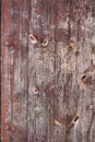 Abstract grunge wood texture background with old brown weathered paint. Royalty Free Stock Photo