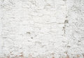 Abstract grungy empty background.Photo of white blank bricks wall texture. Blank cement surface.Horizontal. Royalty Free Stock Photo