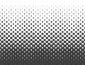 Abstract halftone. Black hexagon isolated on white background. Halftone Vector hexagonal illustrat